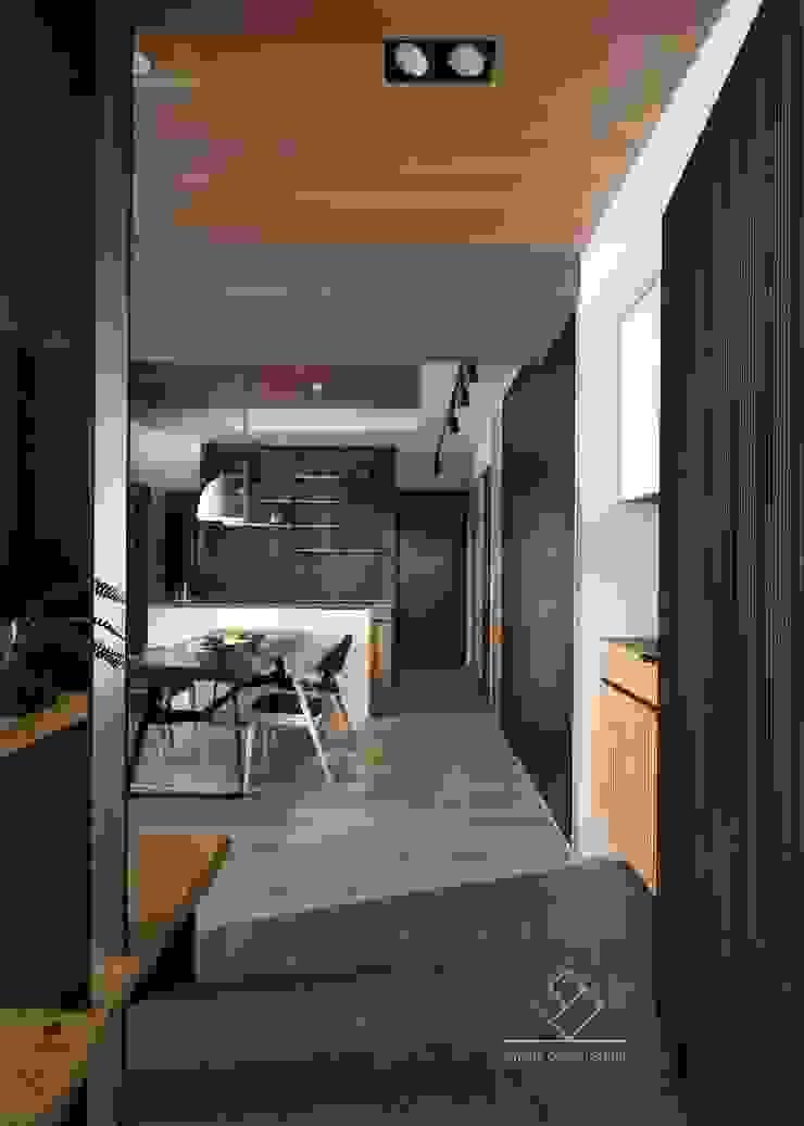 玄關設計 現代風玄關、走廊與階梯 根據 極簡室內設計 Simple Design Studio 現代風