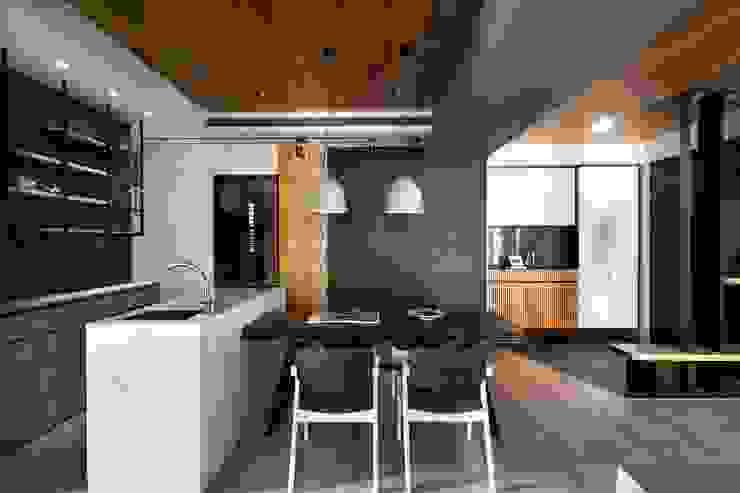 用餐空間 根據 極簡室內設計 Simple Design Studio 現代風