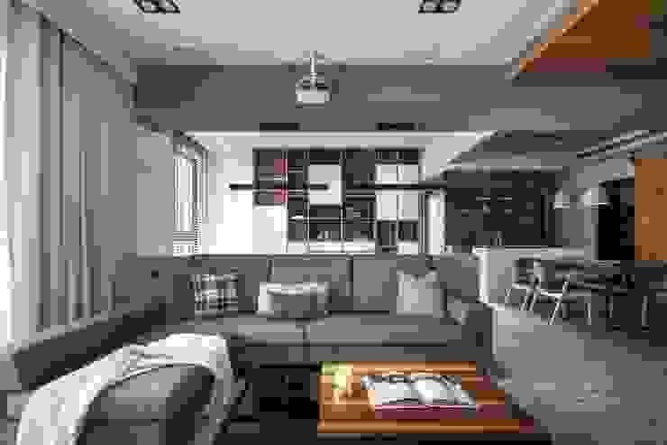 Ruang Keluarga Minimalis Oleh 極簡室內設計 Simple Design Studio Minimalis