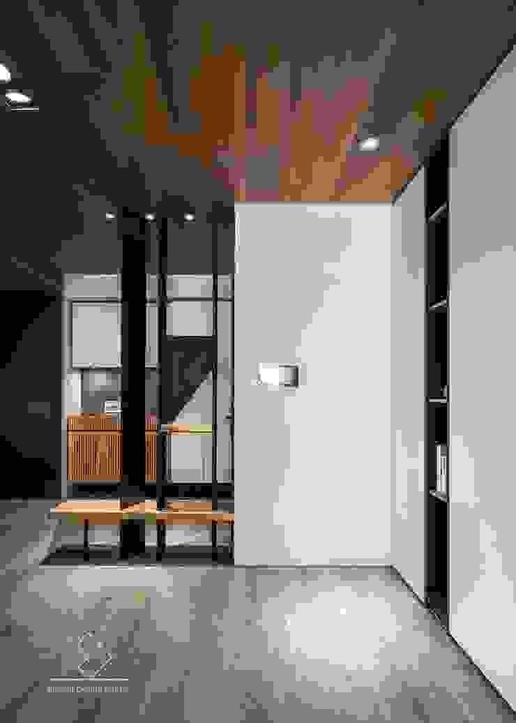 玄關造型 現代風玄關、走廊與階梯 根據 極簡室內設計 Simple Design Studio 現代風