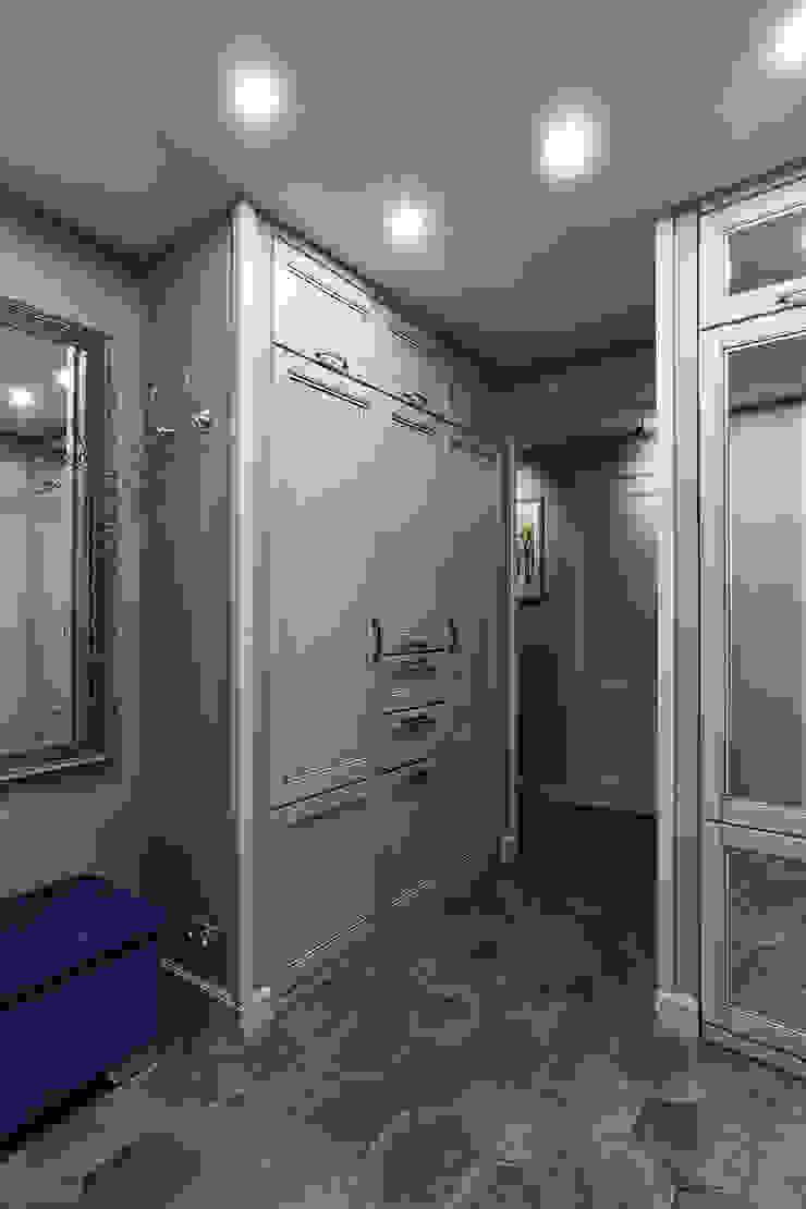 Вира-АртСтрой Eclectic style corridor, hallway & stairs