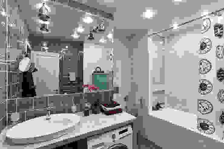 Ванная Ванная комната в эклектичном стиле от Вира-АртСтрой Эклектичный