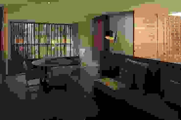 HNN HOUSE Livings de estilo moderno de Hernandez Silva Arquitectos Moderno
