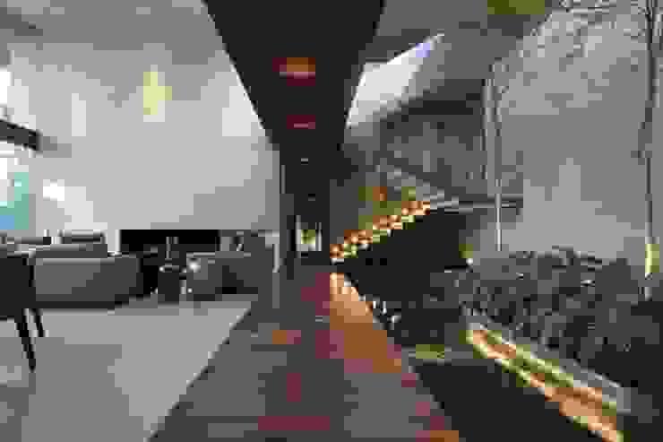 HNN HOUSE Salas de estilo moderno de Hernandez Silva Arquitectos Moderno