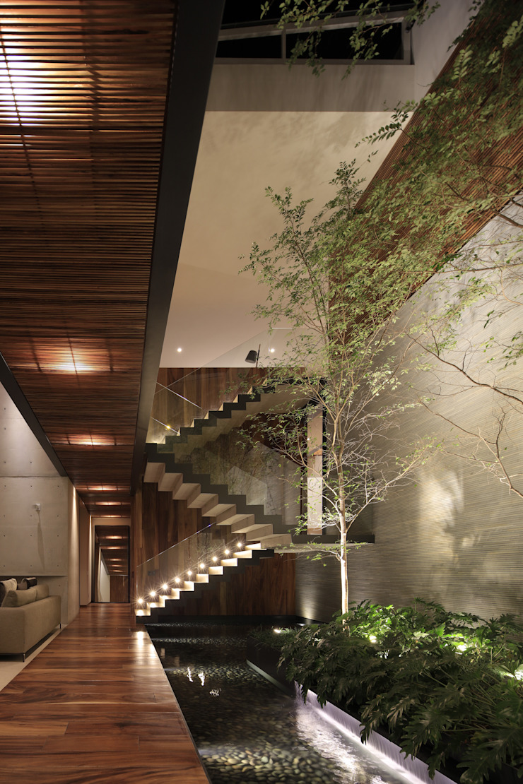 HNN HOUSE de Hernandez Silva Arquitectos Moderno