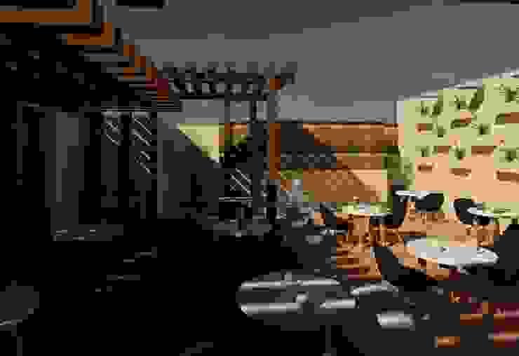 Terreza Balcones y terrazas modernos de Perfil Arquitectónico Moderno