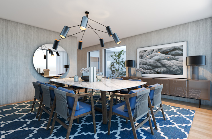 CASA MARQUES INTERIORES Dining roomTables