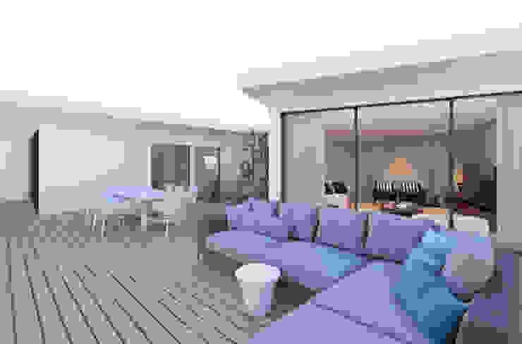 CASA MARQUES INTERIORES Balconies, verandas & terraces Furniture