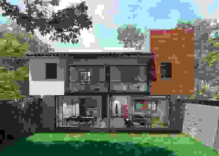 Nhà gia đình theo Fi Arquitectos,