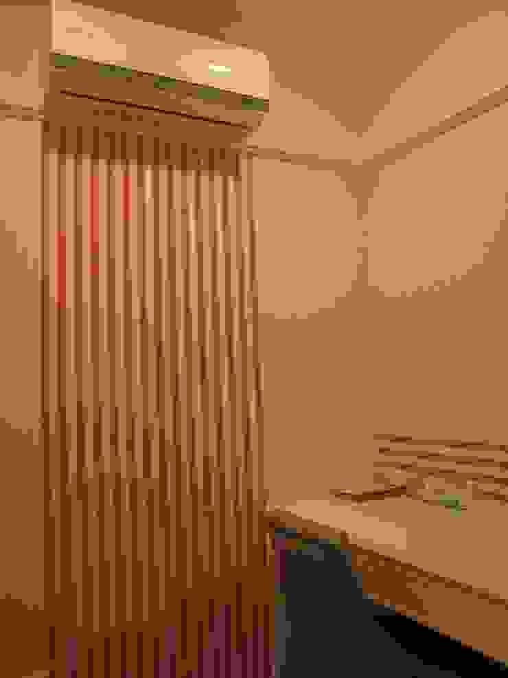 汐止: 現代  by Joy Full Interior Designer 佐輔室內裝修, 現代風 天然纖維 Beige