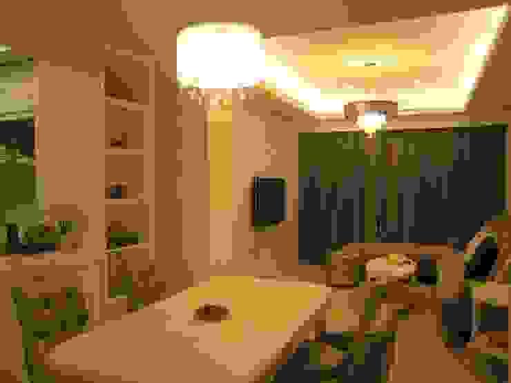 汐止 根據 Joy Full Interior Designer 佐輔室內裝修 現代風 塑木複合材料