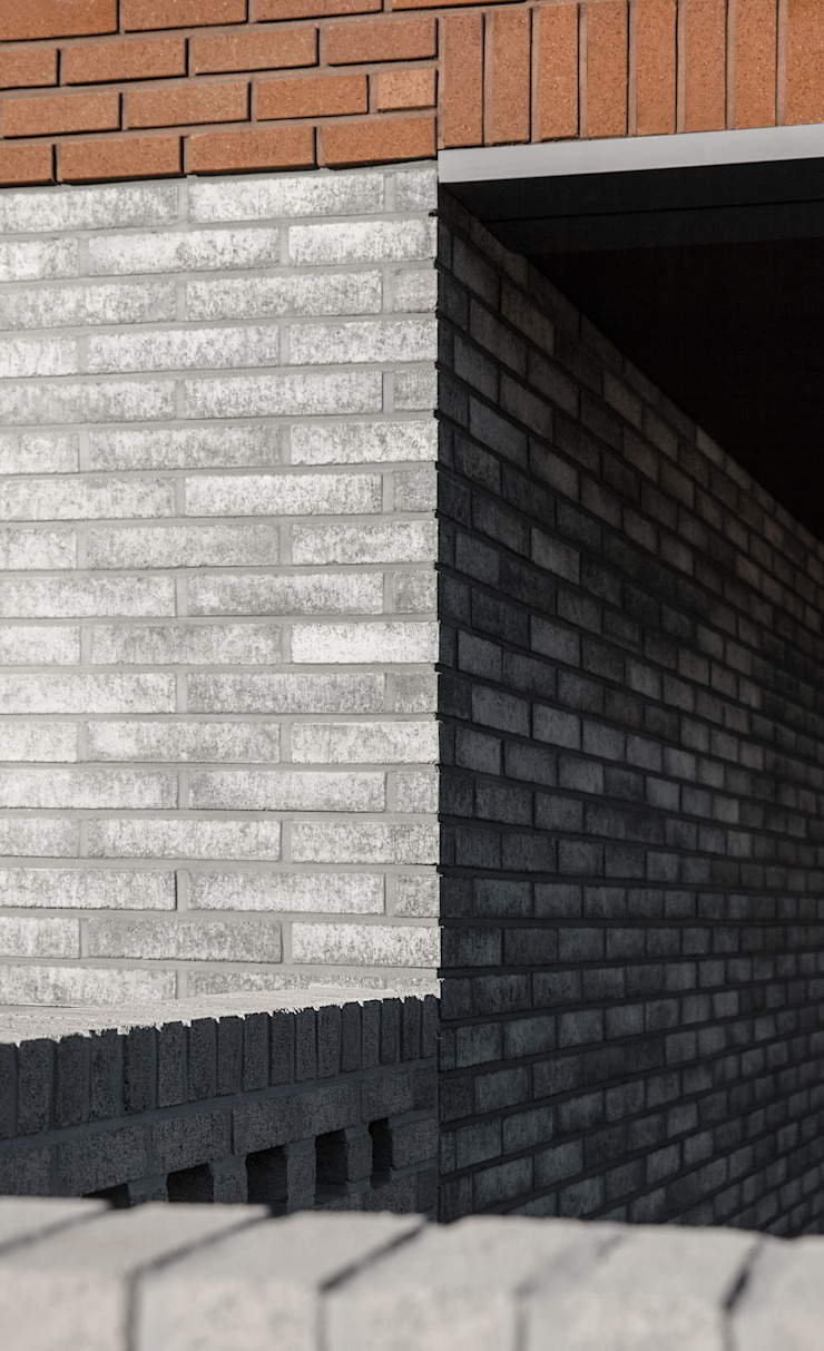 사룡리 아름이네 집 모던스타일 발코니, 베란다 & 테라스 by 서가 건축사사무소 모던