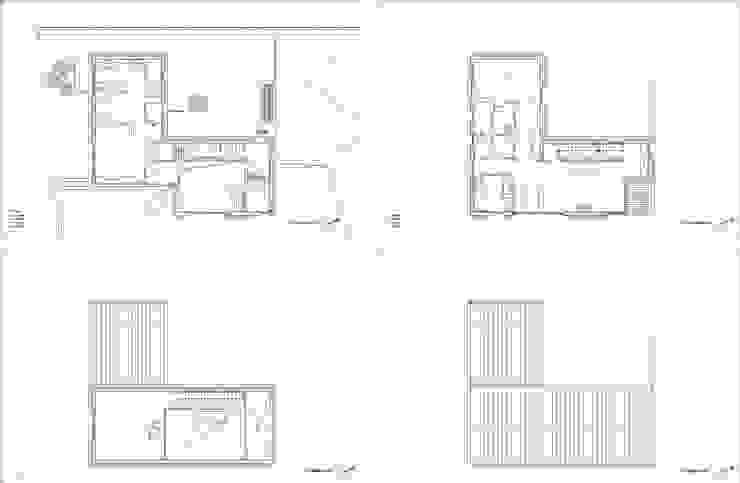 사룡리 아름이네 집: 서가 건축사사무소의 현대 ,모던