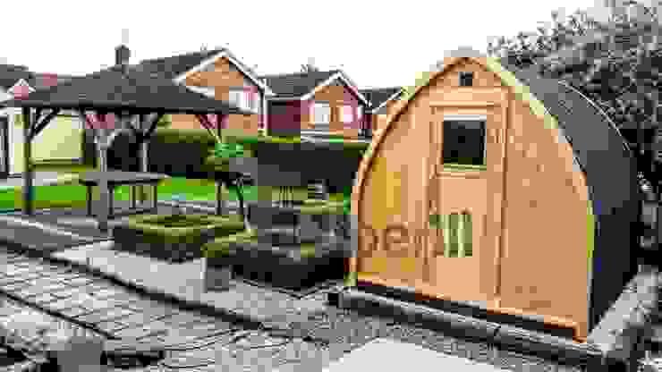 Igloo camping huis van TimberIN hot tubs en sauna's Scandinavisch