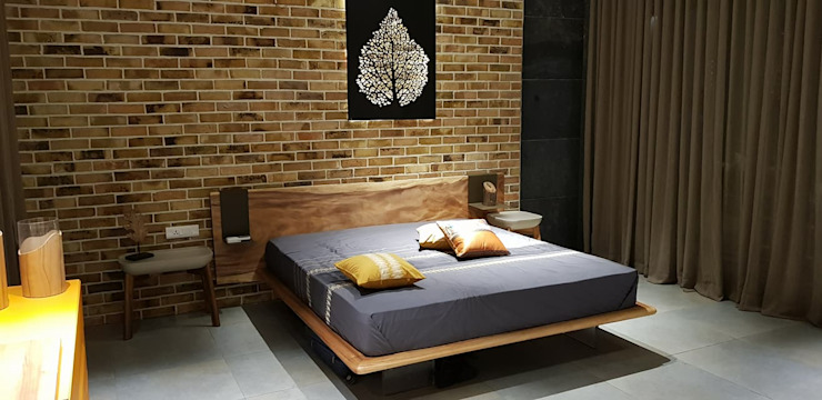 SPACCE interiors Modern style bedroom by SPACCE INTERIORS Modern