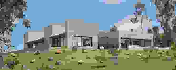 Casa SQ: Casas de estilo  por AMR ARQUITECTOS,
