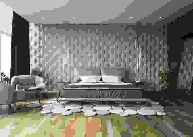 Modern Bedroom by Adriel Padilla Arquitectos Modern