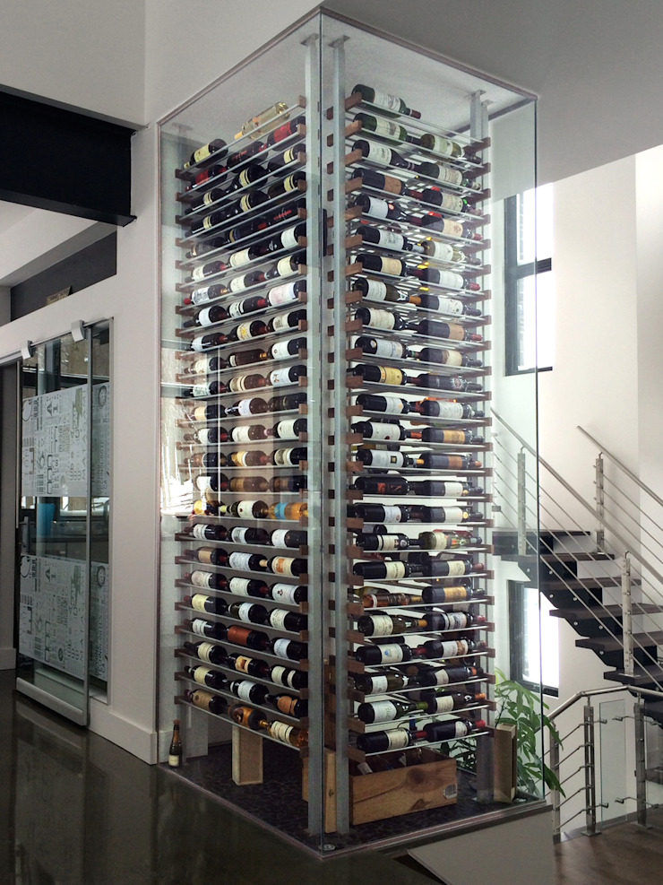 Millesime Wine Racks Wine cellar Aluminium/Zinc Metallic/Silver