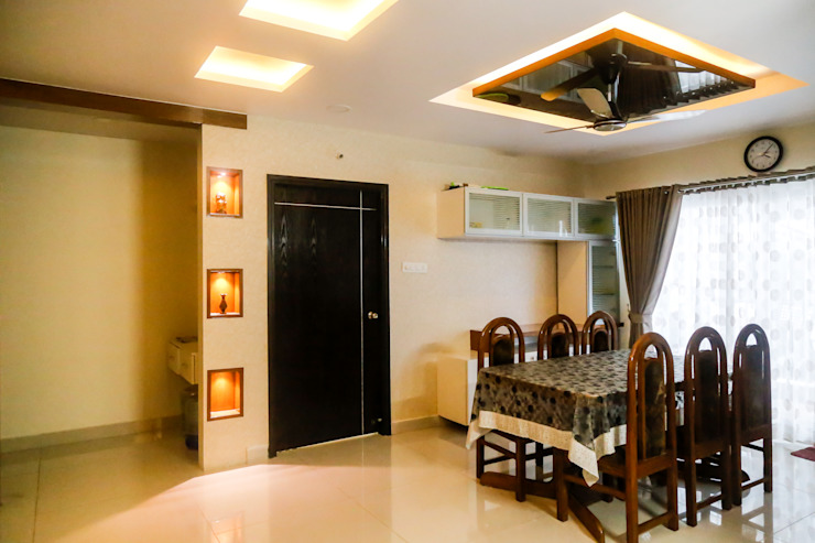 Mr. Amit Rainbow vistas by Ghar Ek Sapna Interiors