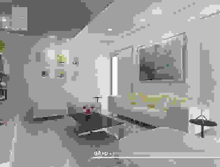 LIVING ROOM Oleh daksaja architects and planners