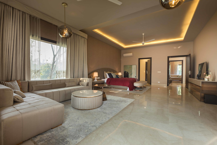 Luxurious Home Lighting Project in Delhi: modern  by Jainsons Emporio,Modern Glass