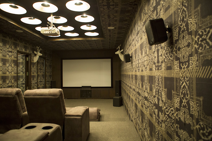 Home theater : view 1 by DESIGNER'S CIRCLE Modern