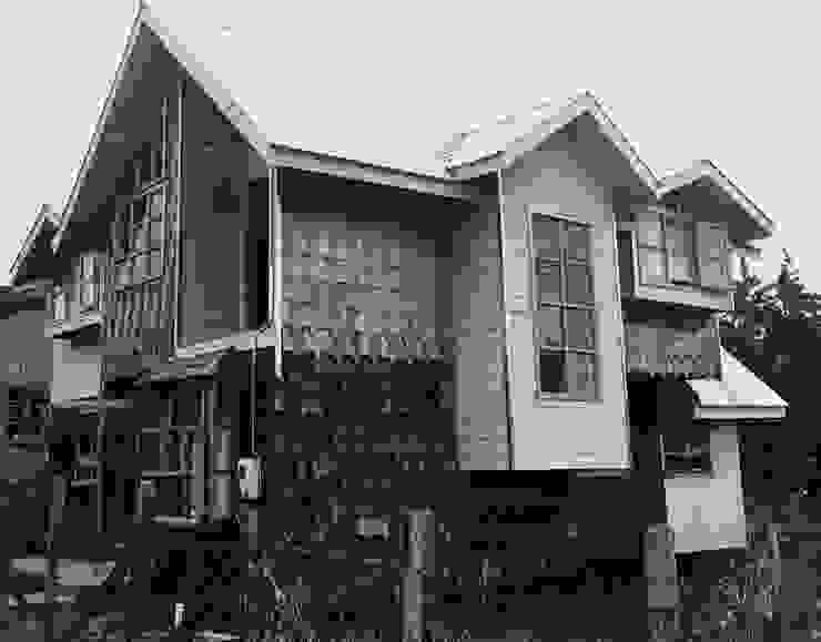 根據 GerSS Arquitectos 鄉村風 木頭 Wood effect