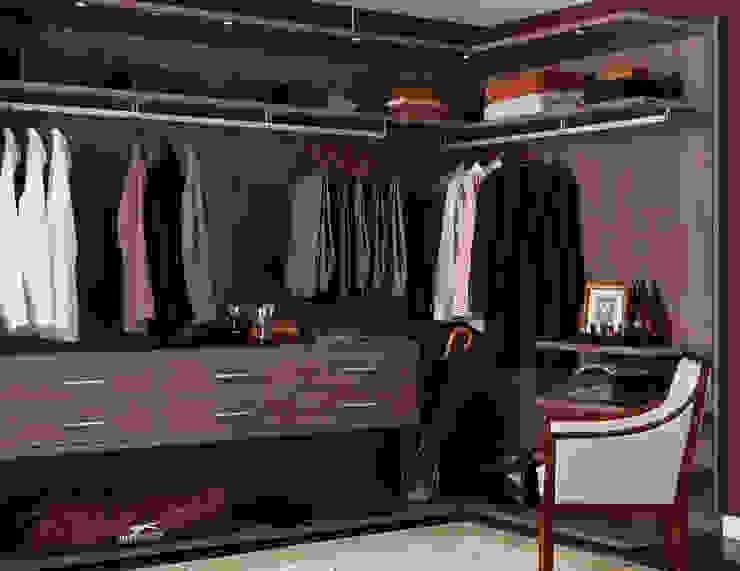 How to Create a Walk-in Closet From Scratch: minimalist  by Ian Lewis, Minimalist Wool Orange