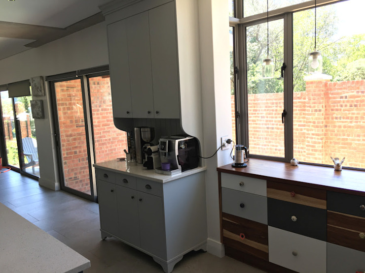 Kitchen coffee station by Nick and Nelly Kitchens Industrial MDF