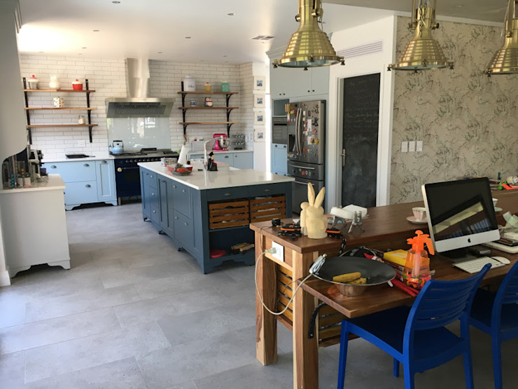Industrial Kitchen by Nick and Nelly Kitchens Industrial MDF