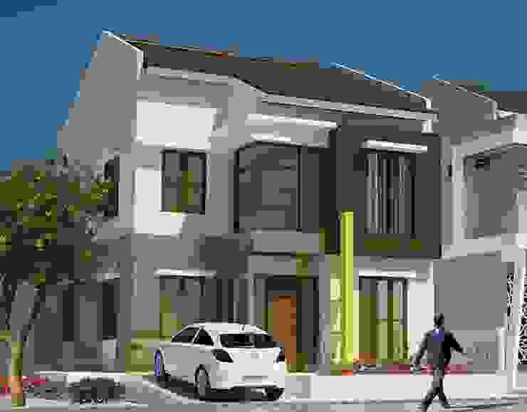 Rumah Tinggal - Duren Sawit Oleh Adhicitta Karya Megah Minimalis Batu Bata