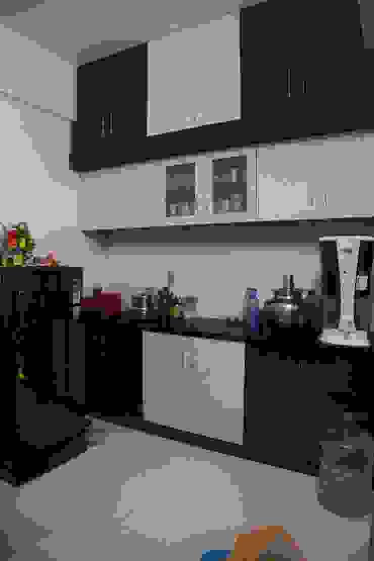 Mr. Gupta Kondapur Naani Modern kitchen by Ghar Ek Sapna Interiors Modern