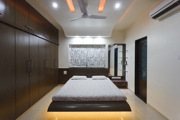 guest room Modern Bedroom by KUMAR INTERIOR THANE Modern