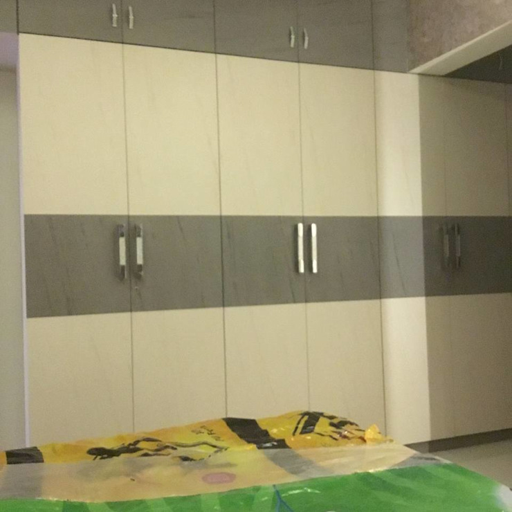 badroom 2 Modern style bedroom by KUMAR INTERIOR THANE Modern