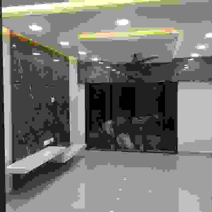 false celling Modern living room by KUMAR INTERIOR THANE Modern