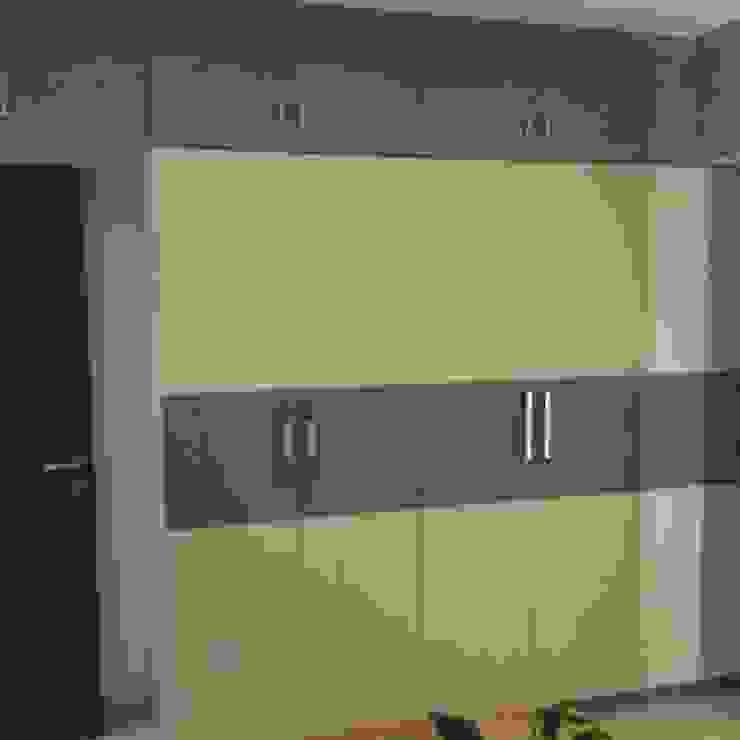 walldrop design Modern style bedroom by KUMAR INTERIOR THANE Modern