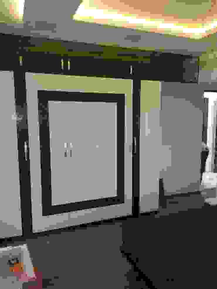 walldrop design bedroom Modern style bedroom by KUMAR INTERIOR THANE Modern