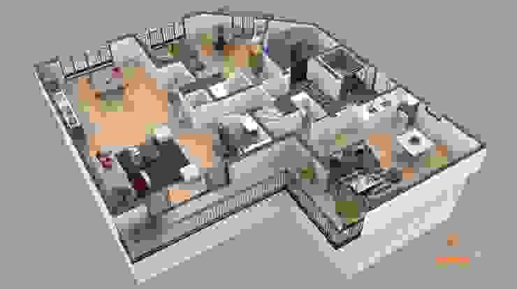 Plano de corte 3D de Realistic-design