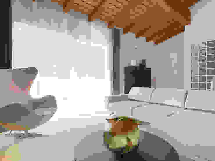 Salas de estilo moderno de Flavia Benigni Architetto Moderno