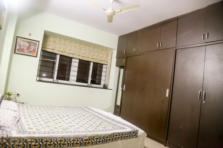 Mr. Kishan InduFortuneCity Modern style bedroom by Ghar Ek Sapna Interiors Modern