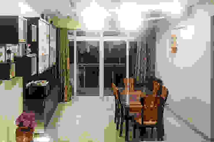 Mr. Kishan InduFortuneCity Modern dining room by Ghar Ek Sapna Interiors Modern