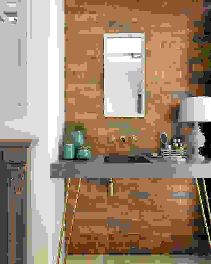 Equipe Ceramicas Mediterranean style bathroom Ceramic Amber/Gold