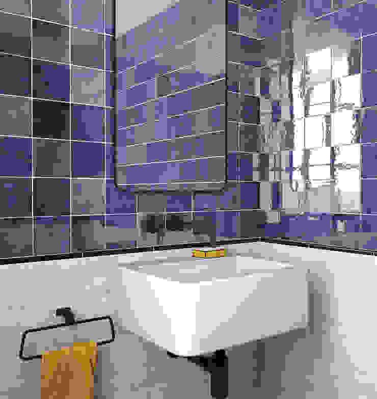 Equipe Ceramicas Mediterranean style bathroom Ceramic