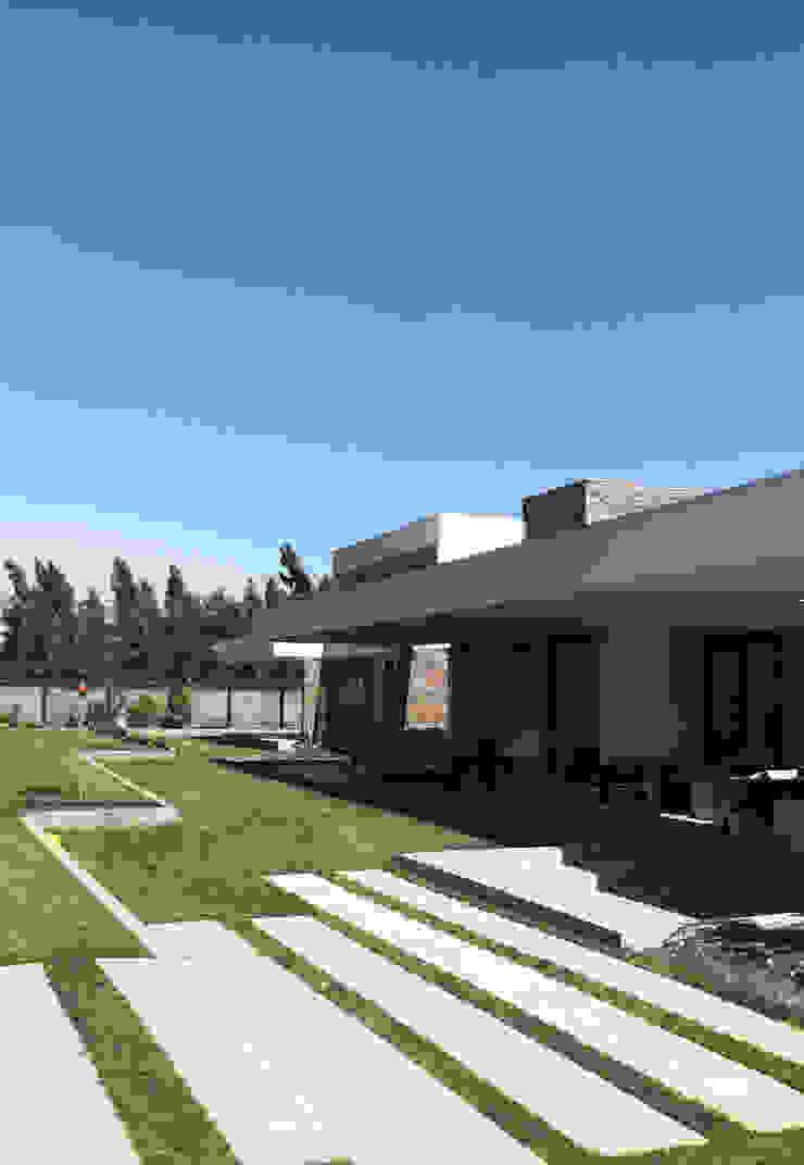 Casa Nogales - Chicureo de proyecto arquitek Mediterráneo Aglomerado