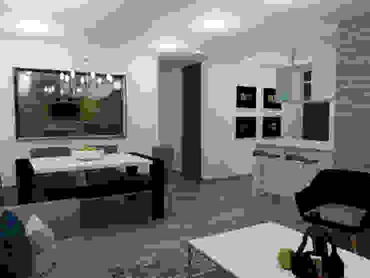 comedor de Omar Interior Designer Empresa de Diseño Interior, remodelacion, Cocinas integrales, Decoración Ecléctico