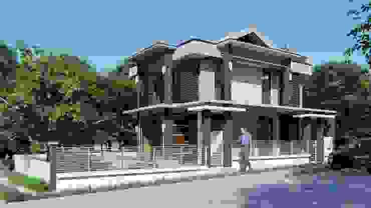 2 STOREY MYRA HOUSE Yaoto Design Studio Modern home