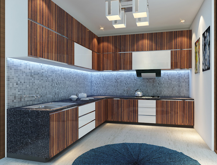 Modular Kitchen - Baner:  Kitchen by DECOR DREAMS,Modern