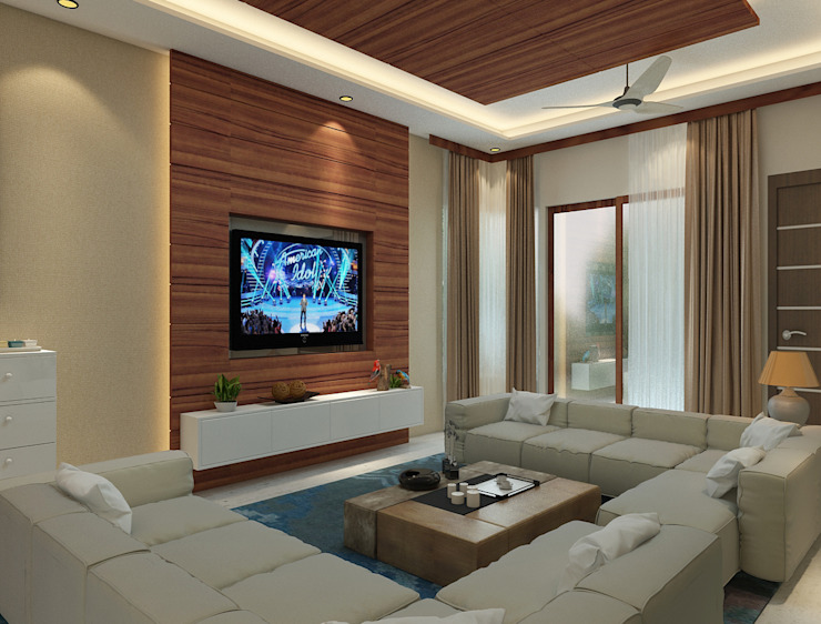 What Is The Best Way To Position The Tv And Sofa In The Living Room Homify