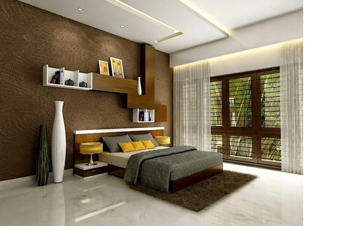 Independent Villa - Pune Modern style bedroom by DECOR DREAMS Modern