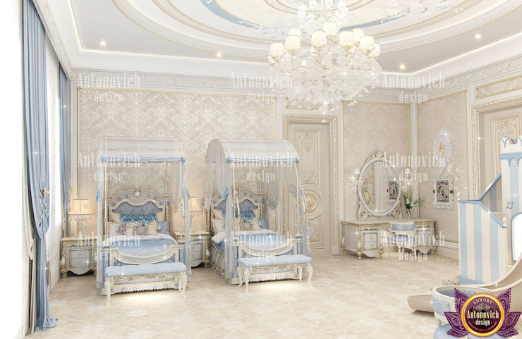 ​Most beautiful houses of Katrina Antonovich Classic style bedroom by Luxury Antonovich Design Classic
